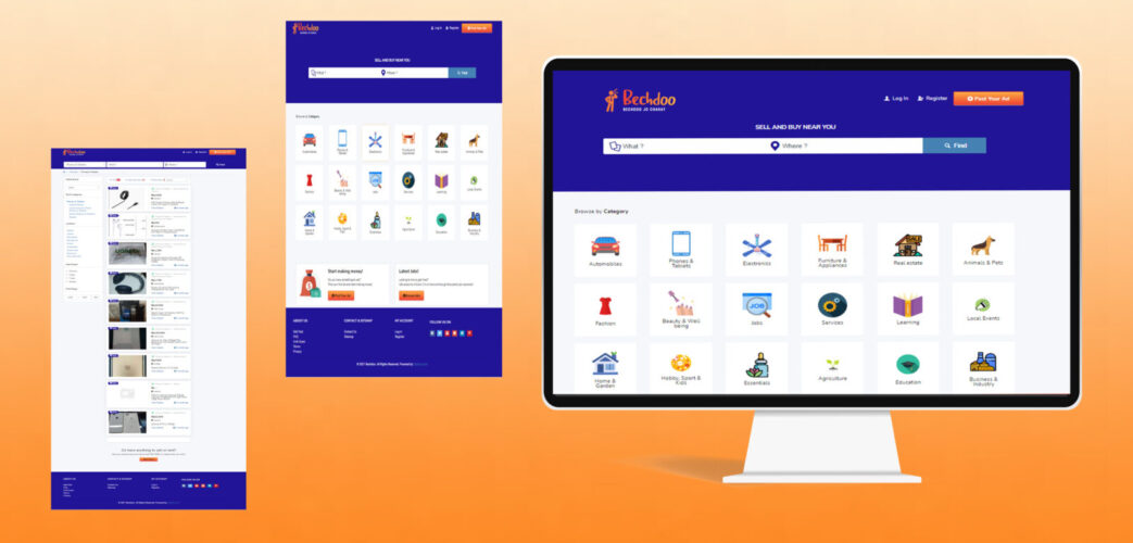Classified Website Development For Bechdoo